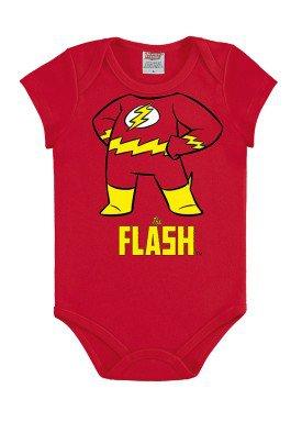 body bebe masculino flash vermelho marlan c4000