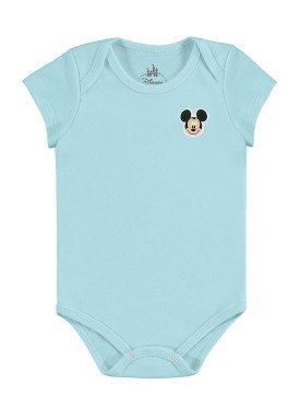 body bebe masculino mickey azul marlan d5412