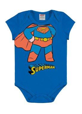 body bebe masculino superman azul marlan c4000
