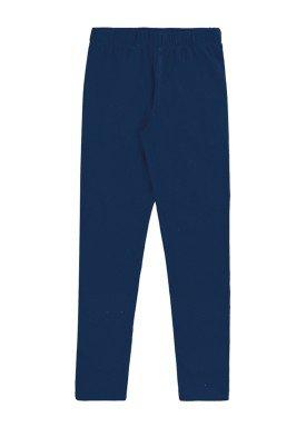calca legging basica infantil feminina marinho marlan 54161