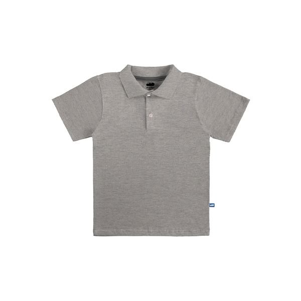 camisa polo basica infantil masculina mescla marlan 54031