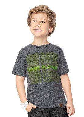 camiseta infantil masculina playing mescla marlan 44657 1