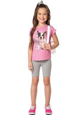 conjunto infantil feminino dog rosa marlan 44641 1