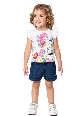 conjunto infantil feminino fada branco marlan 42424 1