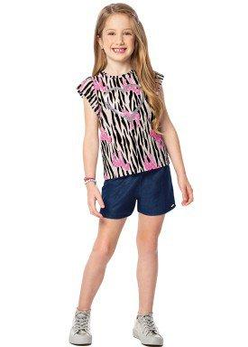 conjunto infantil feminino zebras preto marlan 44624 1