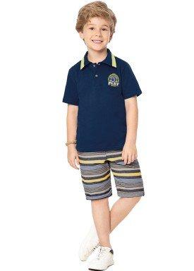 conjunto infantil masculino play marinho marlan 44666 1