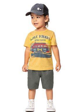 conjunto infantil masculino riders amarelo marlan 42466 1