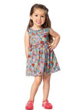 vestido infantil feminino balinhas azul marlan 42437 1