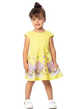 vestido infantil feminino carrossel amarelo marlan 42440 1