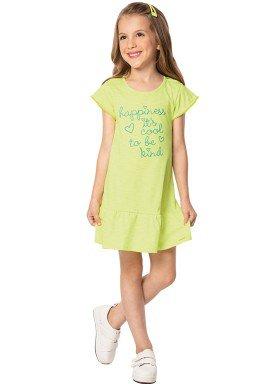 vestido infantil feminino happiness verde marlan 44631 1