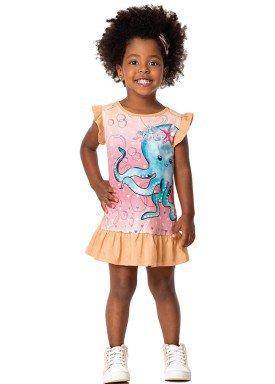 vestido infantil feminino polvo laranja marlan 42442 1