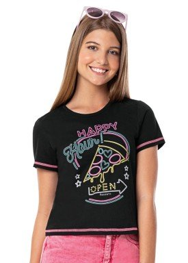 blusa juvenil feminina happy preto rezzato 30720 1