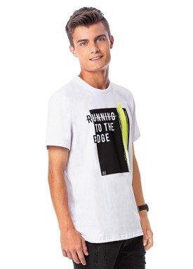 camiseta juvenil masculina running branco rezzato 30737 1