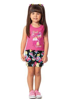 conjunto infantil feminino fruit fresh rosa alenice 44352 1