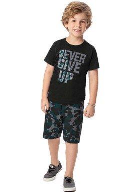 conjunto infantil masculino nevergiveup preto alenice 47007 1