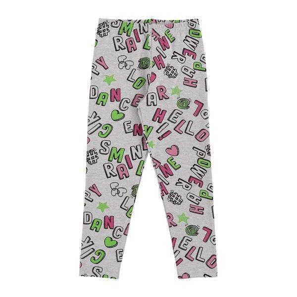 legging infantil feminina estampada mescla alenice 44346