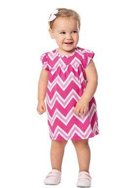 vestido bebe feminino estampado rosa alenice 41023 1