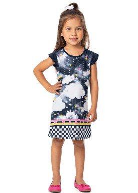 vestido infantil feminino nuvens marinho alenice 44362 1