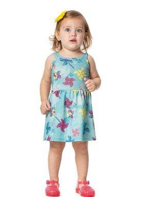 vestido bebe menina cataventos azul alenice 40909 3