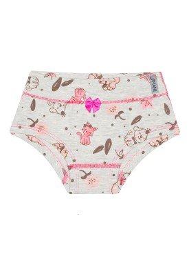 calcinha infantil feminina animals mescla upman mini 464c5