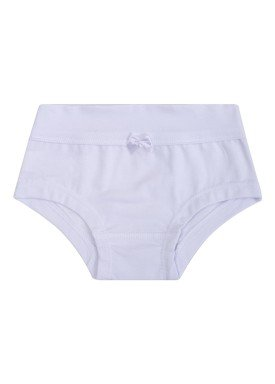 calcinha infantil feminina branco upman mini 464c1