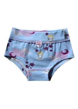 calcinha infantil feminina fadinhas azul upman mini 464c5