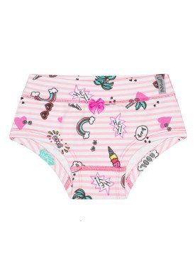 calcinha infantil feminina hey rosa upman mini 464c5