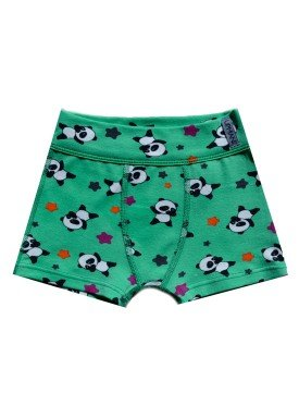 cueca infantil masculina pandas verde upman mini 367c5