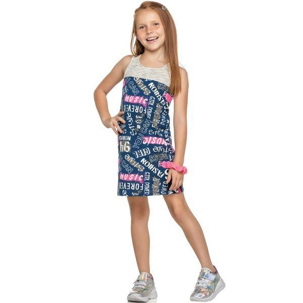 vestido infantil feminino music marinho elian 251367 1
