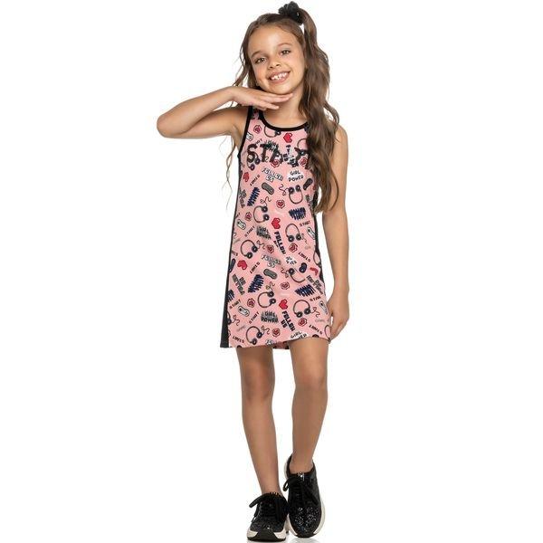 vestido infantil feminino start rosa elian 251353 1