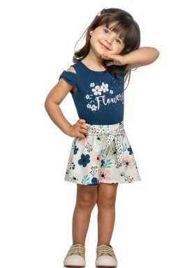 conjunto infantil feminino flowers marinho elian 231418 1