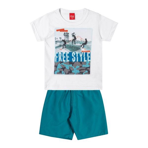 conjunto infantil masculino freestyle branco elian 221078 1