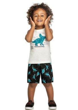 conjunto infantil masculino triceratops natural elian 221071 1