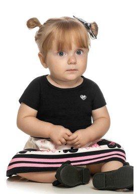 vestido bebe feminino love cat preto elian 211066 1
