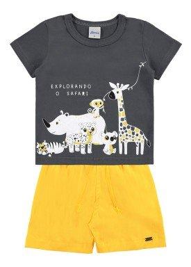 conjunto infantil masculino safari cinza alenice 40999 1