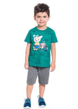 conjunto infantil masculino fast rider verde brandili 34301 1