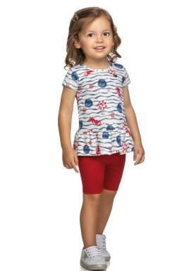conjunto infantil feminino fundo do mar natural elian 231410 1