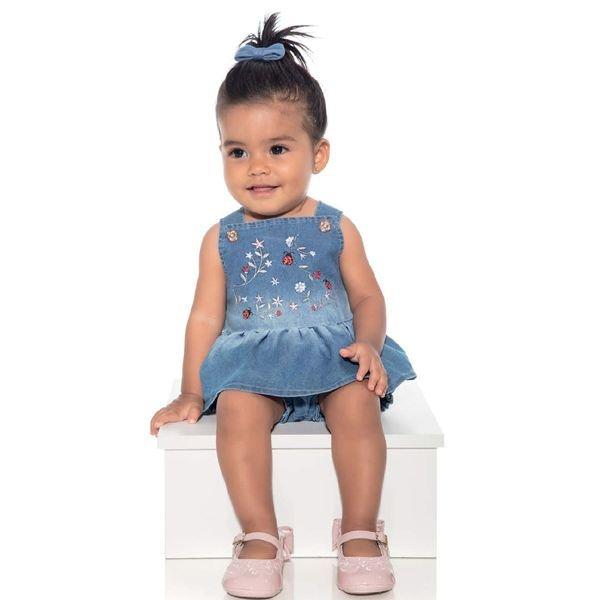 macacao jardineira bebe menina jeans azul paraiso 9734 1
