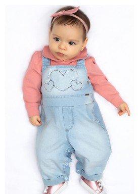 macacao longo bebe menina hearts rosa paraiso 10144 1