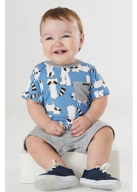 macaquinho bebe masculino guaxinim azul upbaby 42932 1