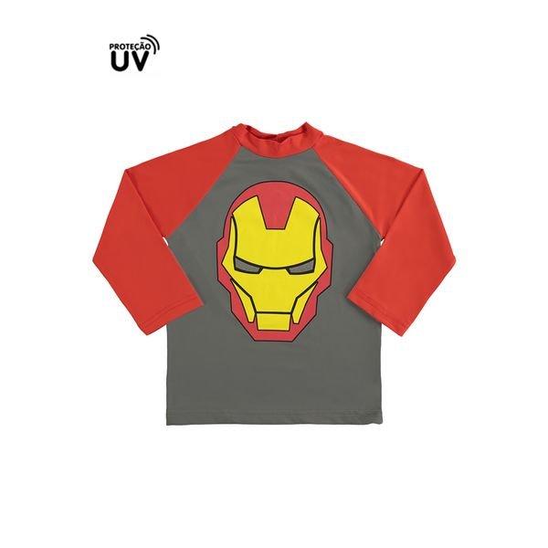 camiseta infantil masculina homem de ferro chumbo marlan a6017