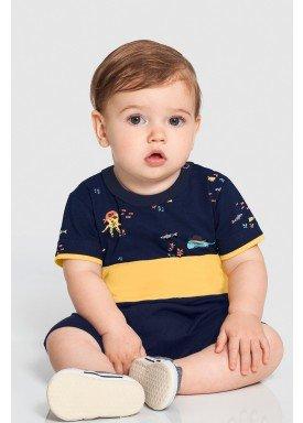 macaquinho bebe masculino fundo mar marinho alakazoo 46810 1