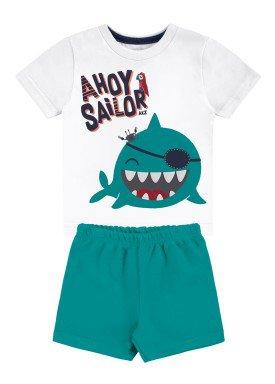 conjunto bebe masculino sailor branco alakazoo 46809 1