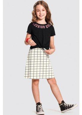 vestido infantil feminino fashion preto alakazoo 47273 1