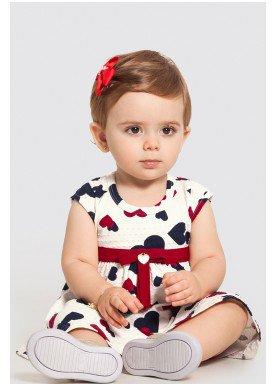 vestido bebe feminino coracoes offwhite alakazoo 47181 1