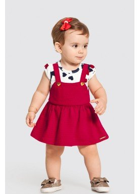 vestido body bebe feminino coracoes offwhite alakazoo 47184 1
