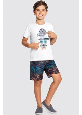 conjunto infantil masculino skate branco alakazoo 16038 1