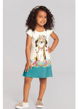 vestido infantil feminino dog offwhite alakazoo 39561 1