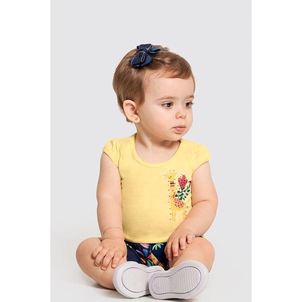 conjunto bebe feminino floresta amarelo alakazoo 47191 1