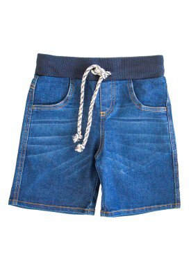 bermuda jeans infantil masculina azul lbm j008 clipers 1